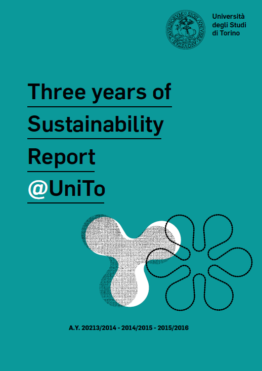 Cover of the Three years of sustainability report