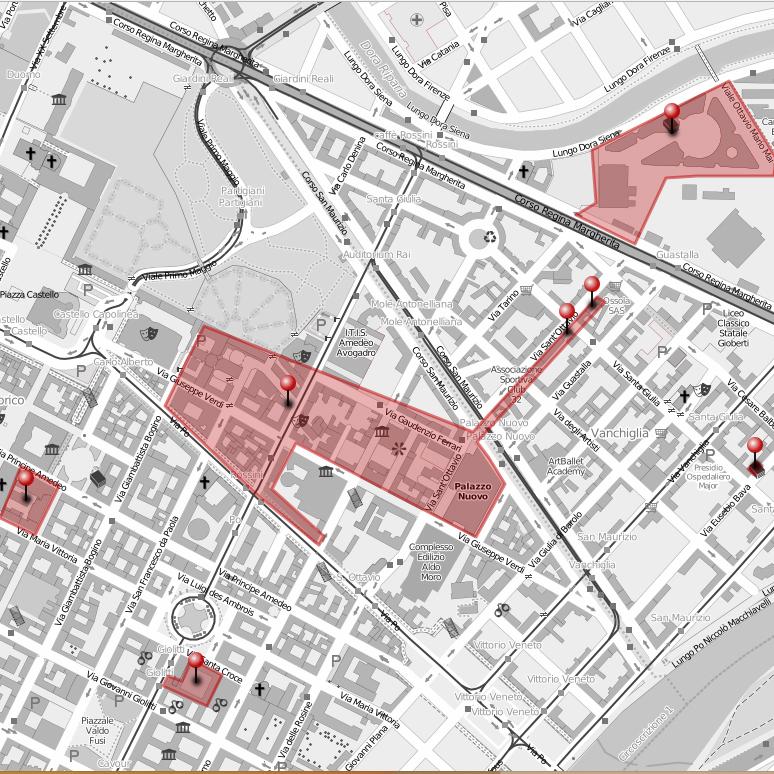 campus del centro città