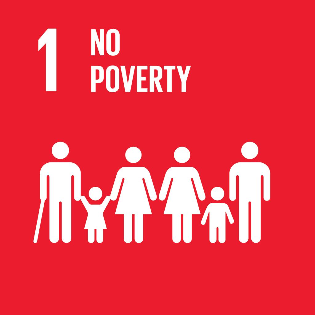 Icona No poverty con persone di diversa età