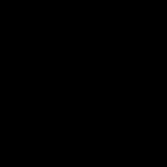 Icona di un network di quattro persone con al centro un megafono