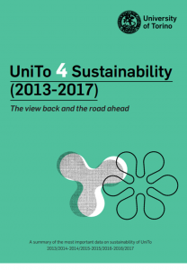 Copertina del documento UniTo 4 Sustainability (2013-2017). The view back and the road ahead