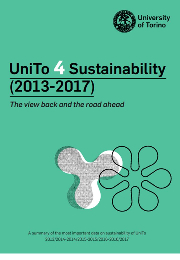 Copertina UniTo 4 Sustainability (2013-2017)
